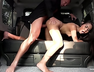 Drilled in problem - squirting indonesian spoil goes deserted in hardcore wheels fuck