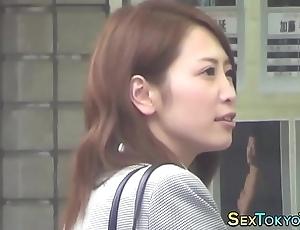 Japanese indulge unattended rubs
