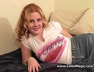 Redhead teen receives a beg for longed-for creampie