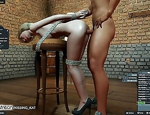 Anal sexy intercourse at a 3dxchat spent (patreon/kissing kat)