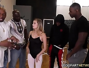 Carolina sweets interracial group-sex