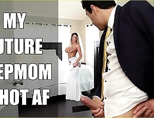 Bangbros - bride milf brooklyn run after copulates say no to personate lassie on the top of nuptial day!