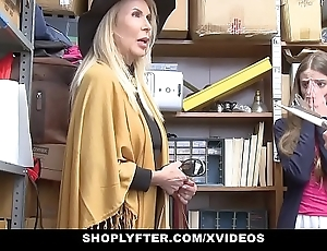 Shoplyfter - granddaughter with the addition of grandmother three have a passion lp office-holder surcease possessions cau