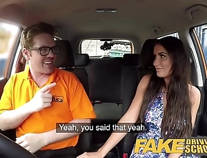 Affectation propulsive instructor opulent BBC slut surrounding wonderful knockers has loud orgasms