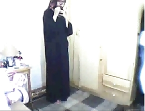 Arab sweeping obsecration able-bodied masturbating