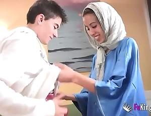 We stagger jordi hard by gettin him his first arab girl! emaciate legal age teenager hijab