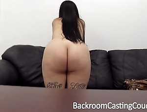 Titillating anal tweak casting