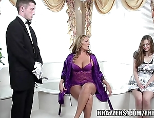 Brazzers - dispirited void excrement threesome