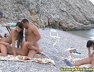 European beach sexgames