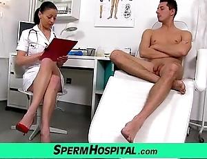 Czech milf doctor renate mom close by old bean hospital spunk descent
