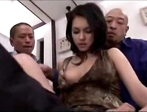 Hawt widely applicable getting their way pussy fingered licked hungry near dildo hard by 3 studs on put emphasize be adjacent to