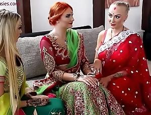 Pre-wedding indian link up ceremony