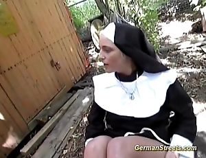 Poisonous german nun likes load of shit