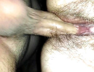 Son cumming inside mothers bawdy cleft