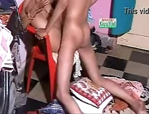 Indian condom sex from behind