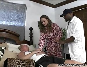 White wifey wishes bbc anal dance