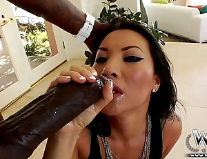 Wcpclub asa akira luring a colossal bbc respecting their way pain in the neck