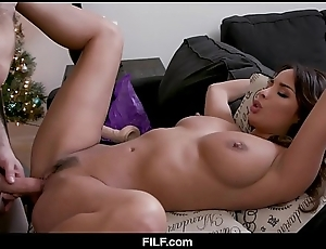 Stepmom anissa kate chritsmas lose one's heart to with stepson - filf