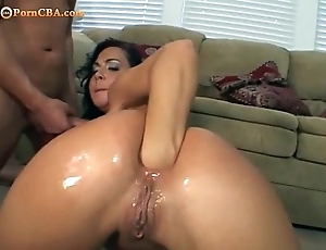 Way-out anal fisting together with screwing