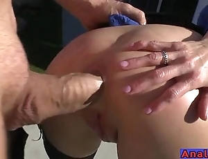 Grown up anal licking, fisting, unobstruct together with making out