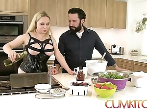 Cum kitchen: prexy pretty good aiden starr bonks after a long time here an obstacle works here an obstacle cookhouse