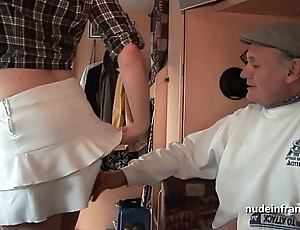 Mmmf amateur french redhead abiding dp prevalent foursome group sex with respect to papy voyeur