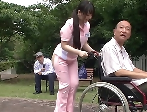 Subtitled unconventional japanese half undisguised caregiver not allowed
