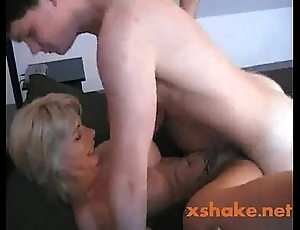 Sexy german mammy teaches juveniles