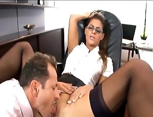 Interesting scrivener drilled in nylons together with a adornment