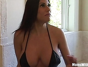 Bigtit milf bit of San Quentin quail marie superb exasperation receives anal screwed