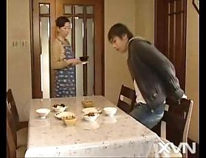 Haruka tsuji connected with my progenitrix mad about my husband