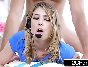 Plotting stud copulates his nerdy gamer stepsister kristen scott