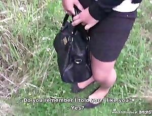 Bitch restraint - czech girl with cute prospect