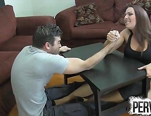 Ramify wrestling pornographic pursuit ballbusting femdom tugjob